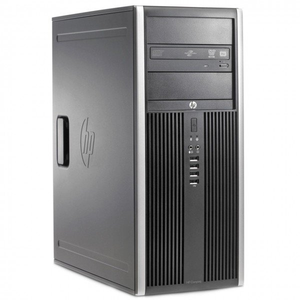 Calculator SH HP 6200 Pro Mt Tower, Intel Core i3-2100 3.10GHz, 4GB DDR3, 500GB SATA, DVD-RW
