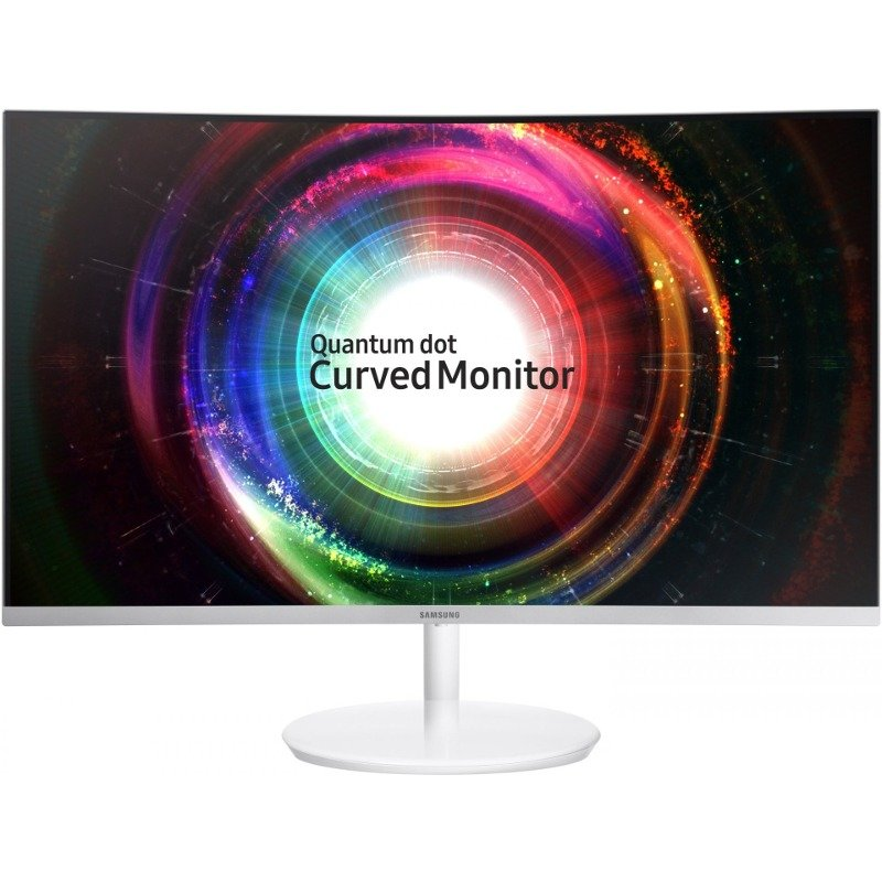 Monitor LED Gaming C27H711QEUXEN Quantum Dot Curbat 27 inch 2K 4 ms FreeSync White