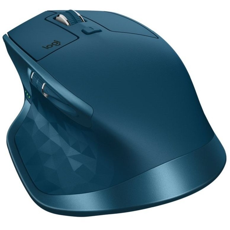 Mouse MX Master 2S Bluetooth Midnight Teal
