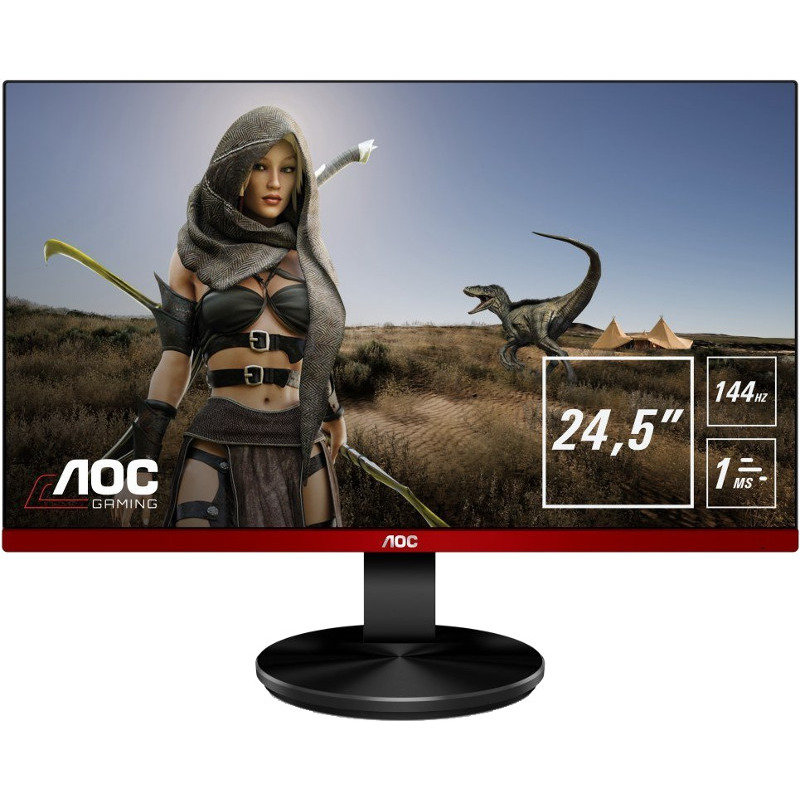 Monitor LED Gaming G2590PX 24.5 inch 1 ms FreeSync 144Hz Black