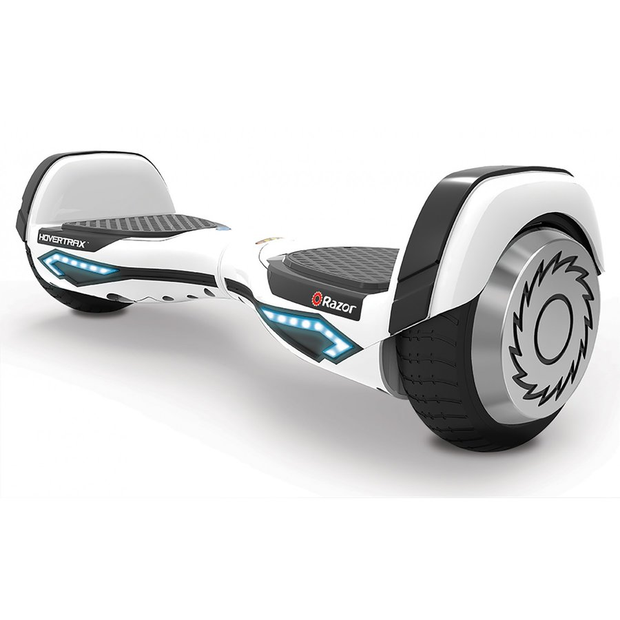 Electric skateboard Hovertrax 2.0 YETI WHITE - self-leveling