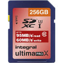 Card memorie Integral Card Memorie UltimaPro 95/60MB/s SDXC Class 10 256GB