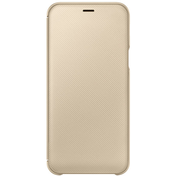 Wallet Cover Galaxy A6 (2018) Gold
