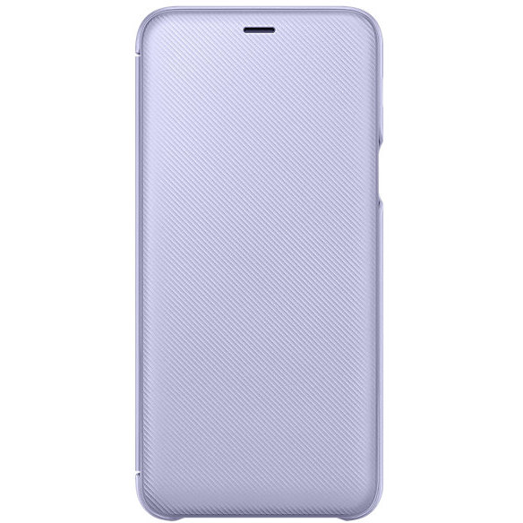 Wallet Cover Galaxy A6+ (2018) Orchid Gray