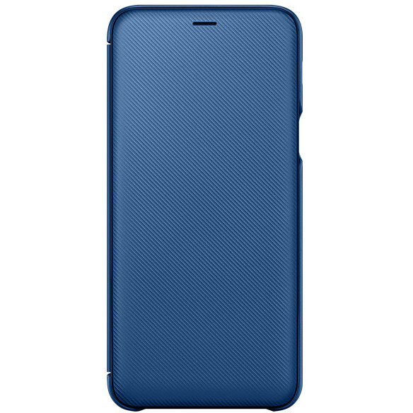 Wallet Cover Galaxy A6+ (2018) Blue