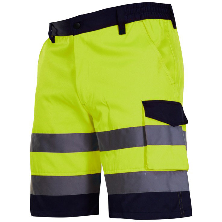 PANTALON REFLECTORIZANT SCURT / VERDE - XL