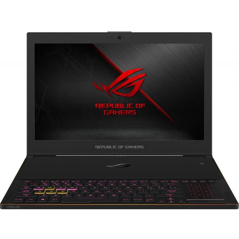 Notebook ROG ZEPHYRUS GX501GI-EI006T 15 FHD i7-8750H 24GB 512GB GTX 1080 8GB Windows 10 Home Black