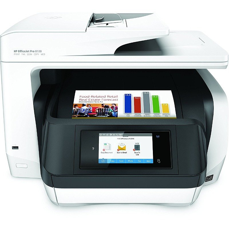 Multifunctionala OfficeJET PRO 8720 ALL-IN-ONE A4 Duplex Wi-Fi