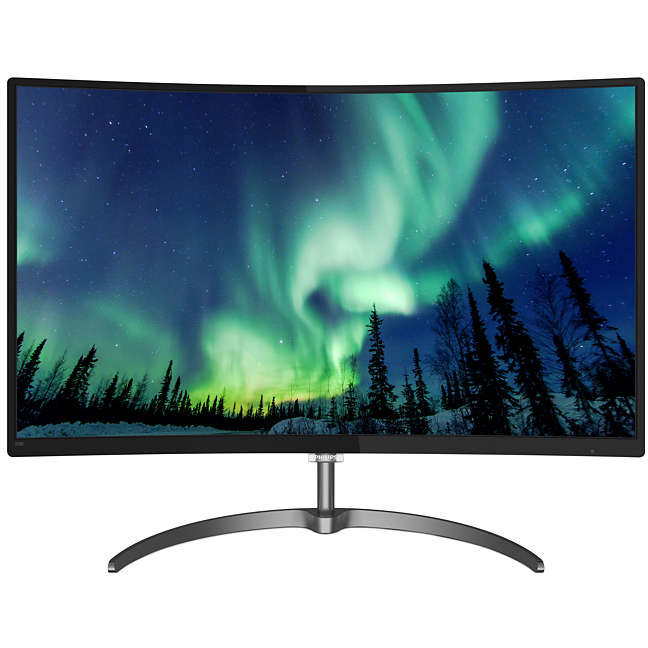 Monitor LED 328E8QJAB5/00 32 Curved FHD 5ms Black