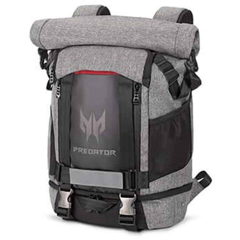 Rucsac 15.6 Predator Grey-Black