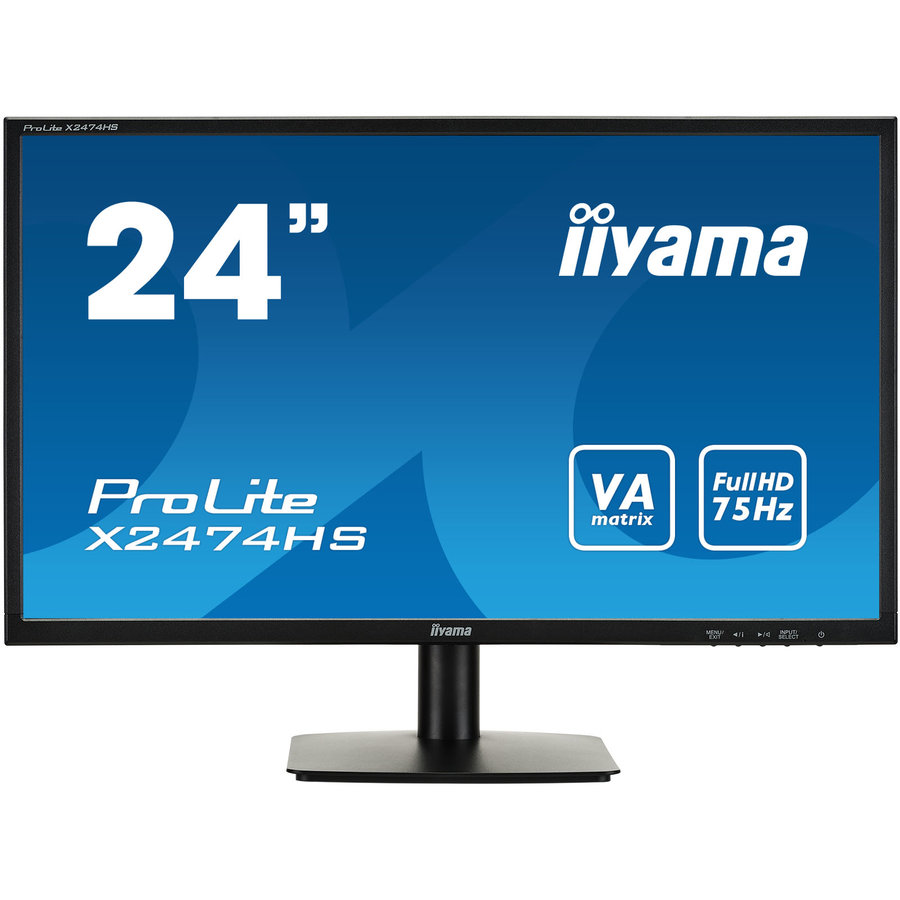 Monitor LED X2474HS-B1 23.6 FHD 4ms Black