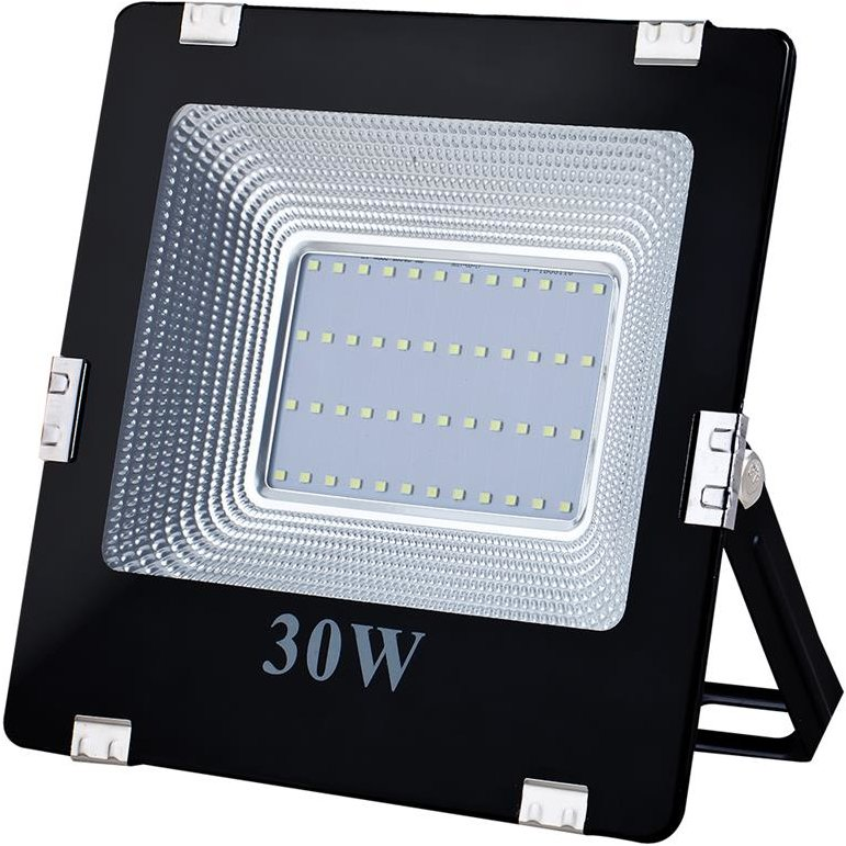 ART External lamp LED 30W,SMD,IP65, AC80-265V,black, 4000K-W, sensor