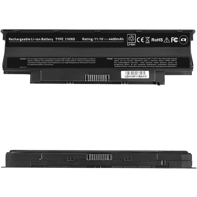 Qoltec baterie notebook Long Life Dell Vostro 13R | 10.8-11.1 V | 4400mAh