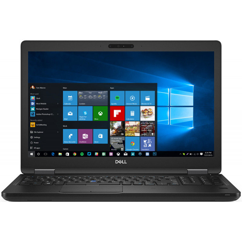 Notebook Latitude 5590 15.6 FHD i7-8650U 16GB 512GB Windows 10 Black