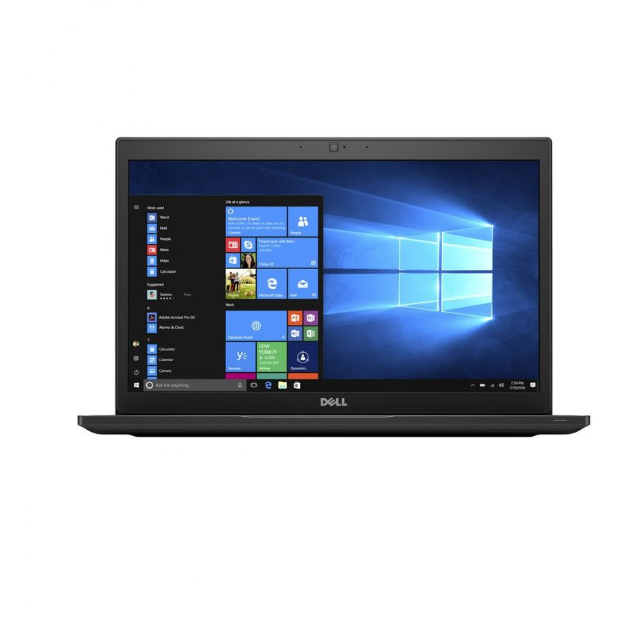 Notebook Latitude 7490 14 FHD i7-8650U 16GB 512GB Windows 10 Pro Black