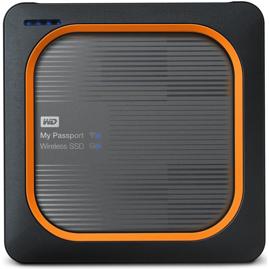 Hard disk extern Wireless SSD 1TB USB 3.0 Black Wi-Fi