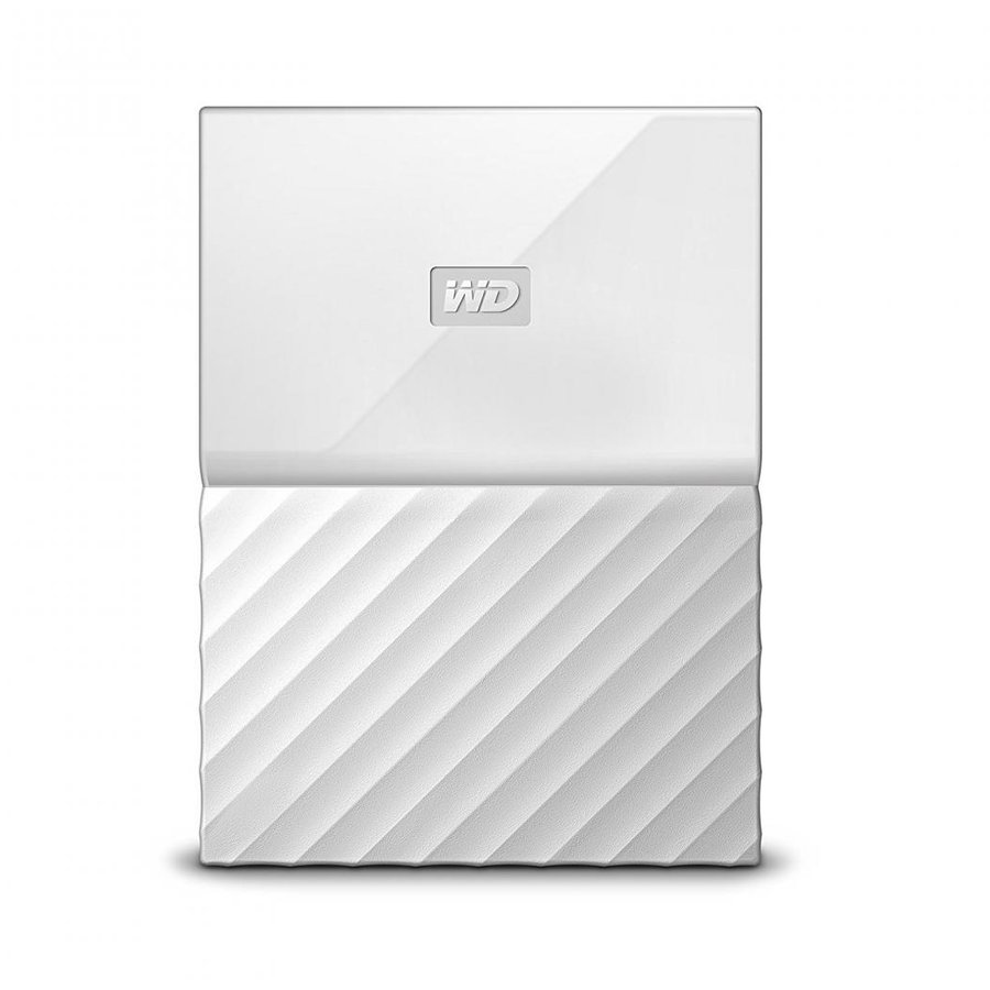 Hard disk extern My Passport Slim 2TB 2.5 USB 3.0 White