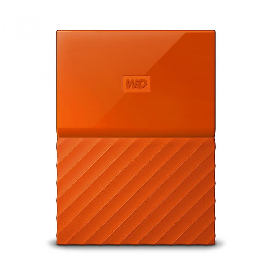 Hard disk extern My Passport Slim 2TB 2.5 USB 3.0 Orange