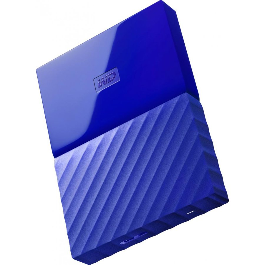 Hard disk extern My Passport Slim 2TB 2.5 USB 3.0 Blue