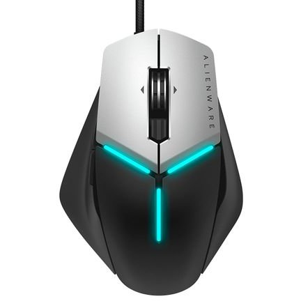 Mouse Gaming Alienware Elite AW958 Black Silver