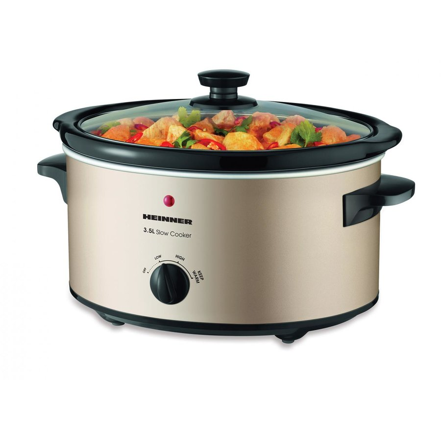 SLOW COOKER HEINNER HSCK-35CR