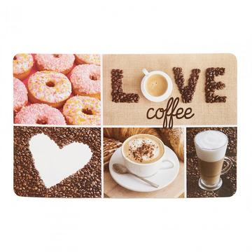 Heinner Placemat plastic 23x43 cm Coffee