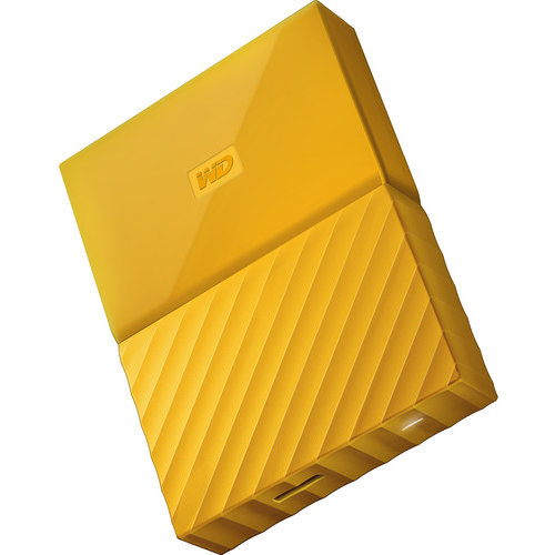 Hard disk extern My Passport 2.5'' 2TB USB 3.1 Yellow