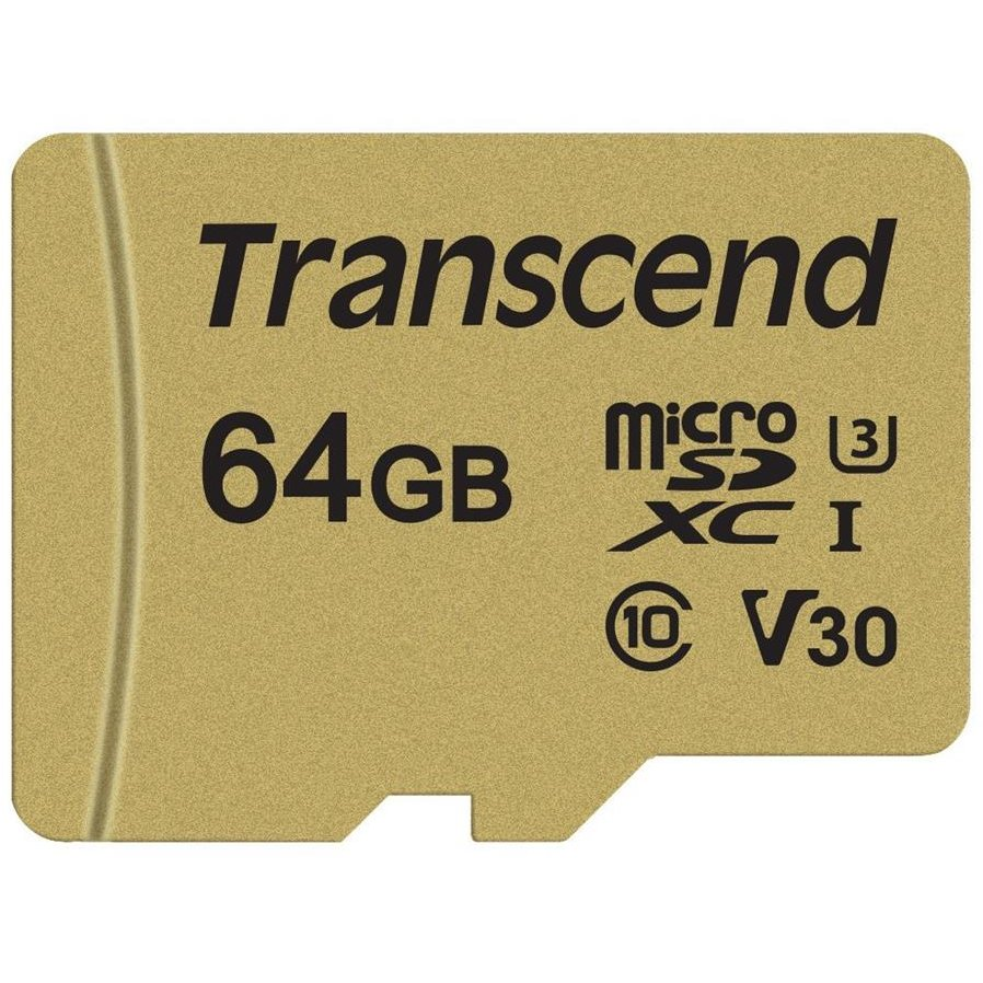 Card memorie microSDXC USD500S 64GB CL10 UHS-I U3 Up to 95MB/S +adapter