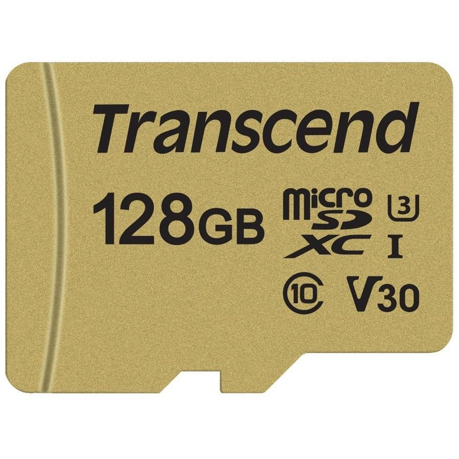 Card memorie microSDXC USD500S 128GB CL10 UHS-I U3 Up to 95MB/S+adapter