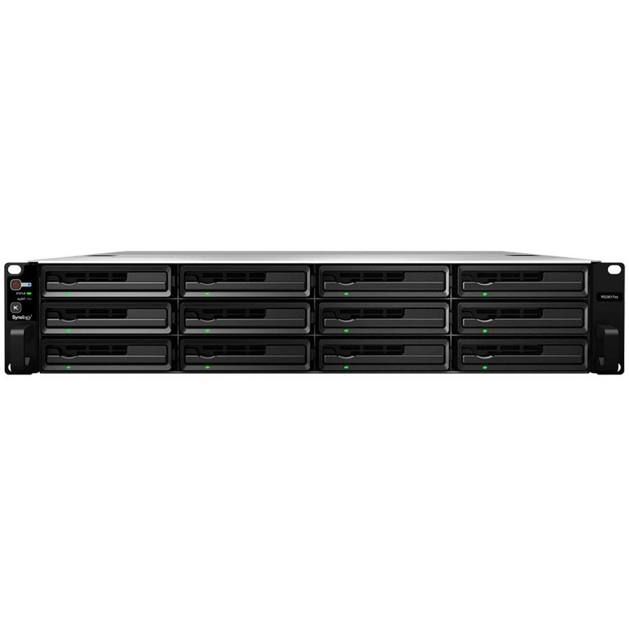 NAS RS3617xs+ 12-Bay SATA 3G 6-Core 2,2GHz 4GB LAN USB 3.0