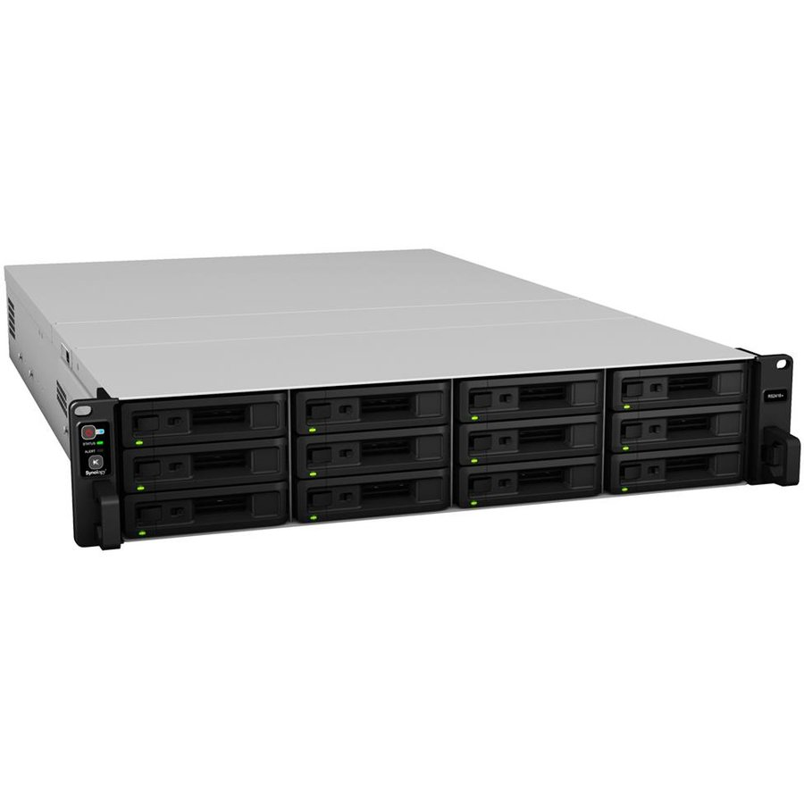 NAS RS2418RP+ 12-Bay Quad-core 2.1GHz 4GB LAN USB3.0
