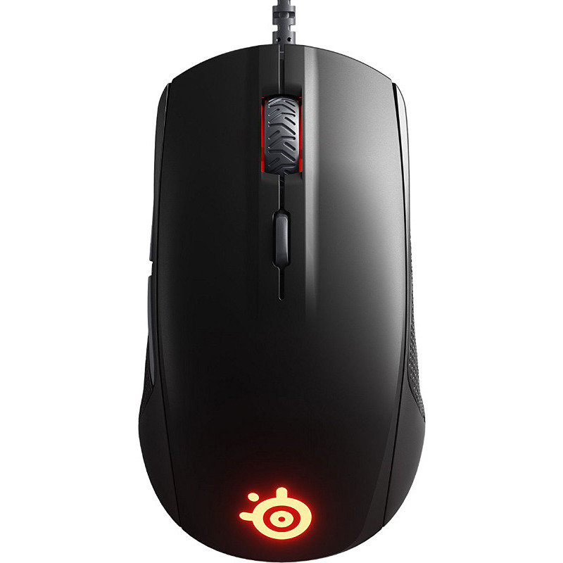 Mouse Gaming Rival 110 Black