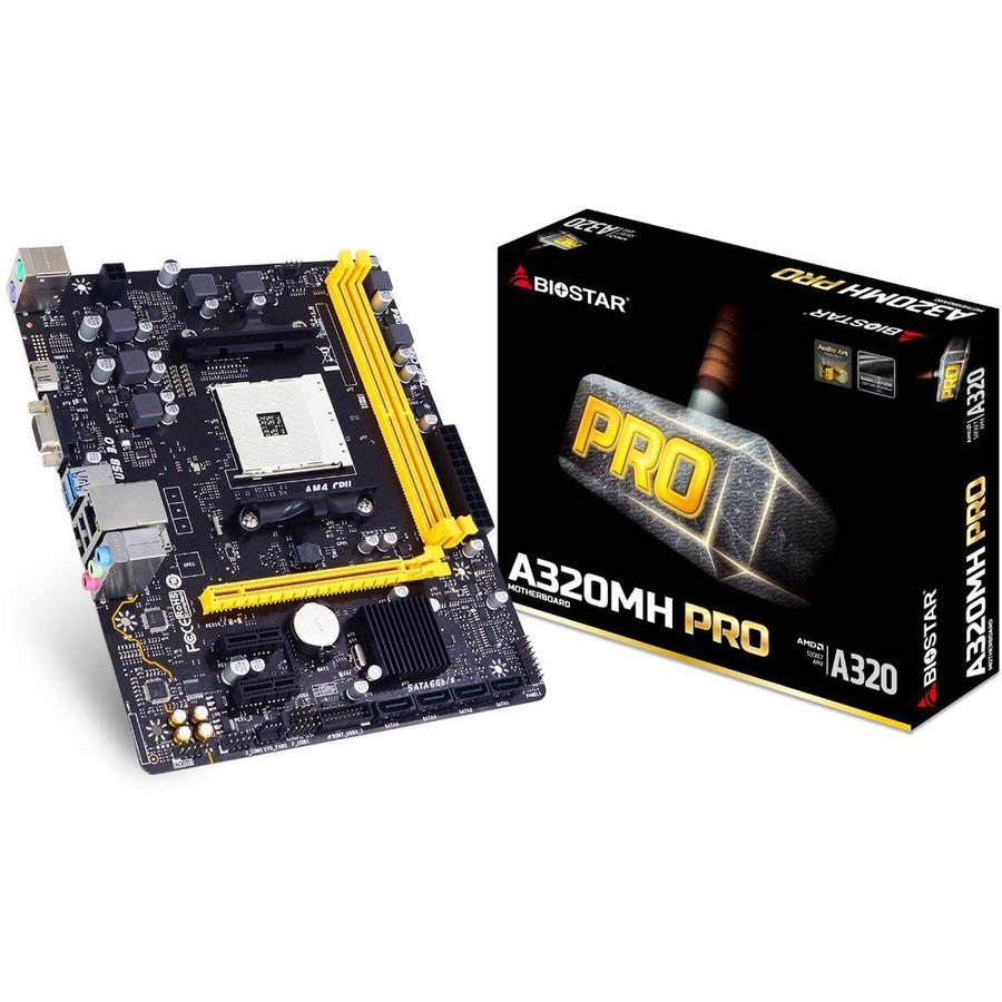 Placa de baza A320MH AM4 DDR4