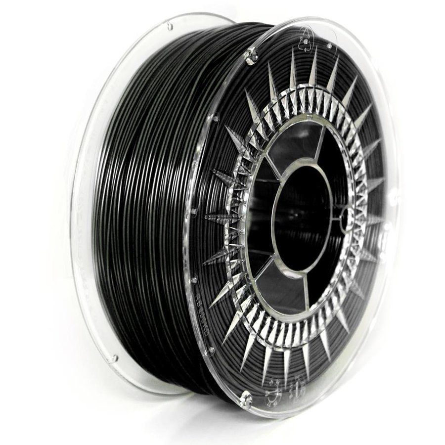 Filament DEVIL DESIGN / ABS / BLACK / 1,75 mm / 1 kg.
