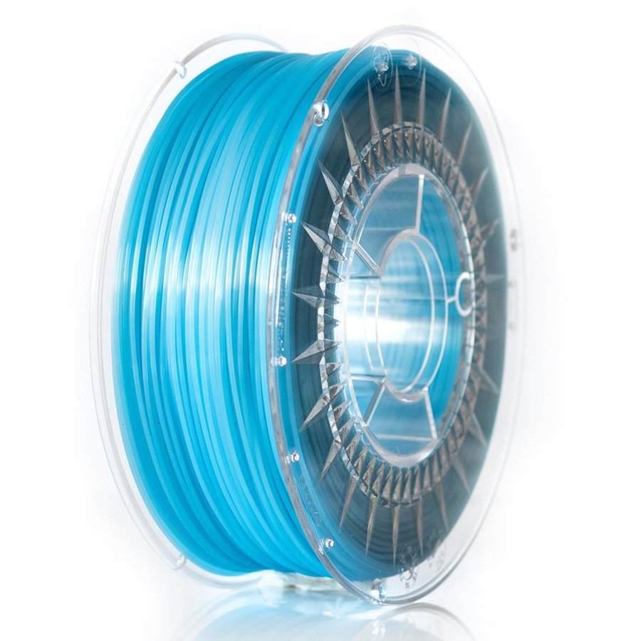 Filament DEVIL DESIGN / ABST / BLUE TRANSPARENT / 1,75 mm / 1 kg.
