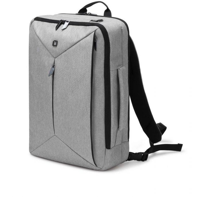 Dicota Backpack Dual Edge 15.6 backpack for notebook and clothes, light grey