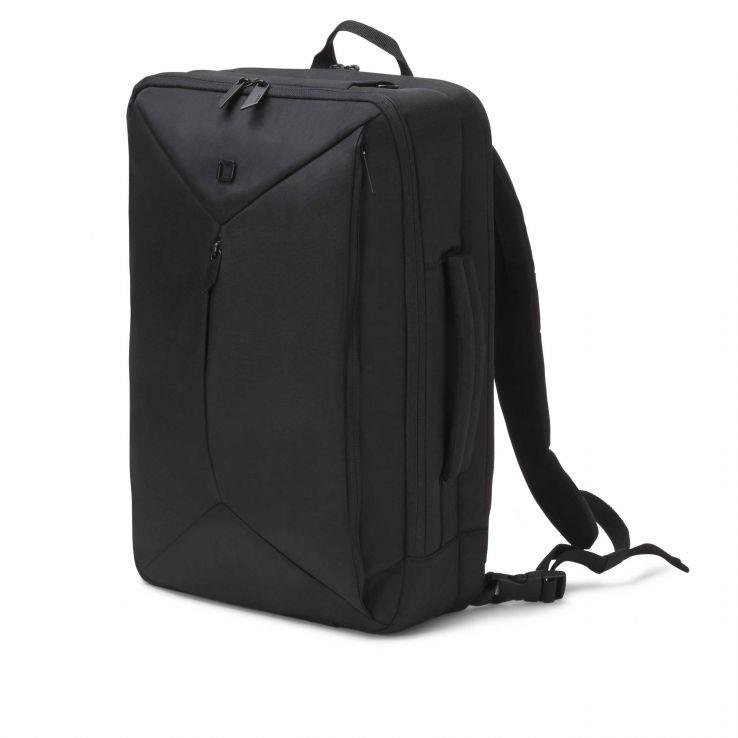 Dicota Backpack Dual Edge 15.6 backpack for notebook and clothes, black
