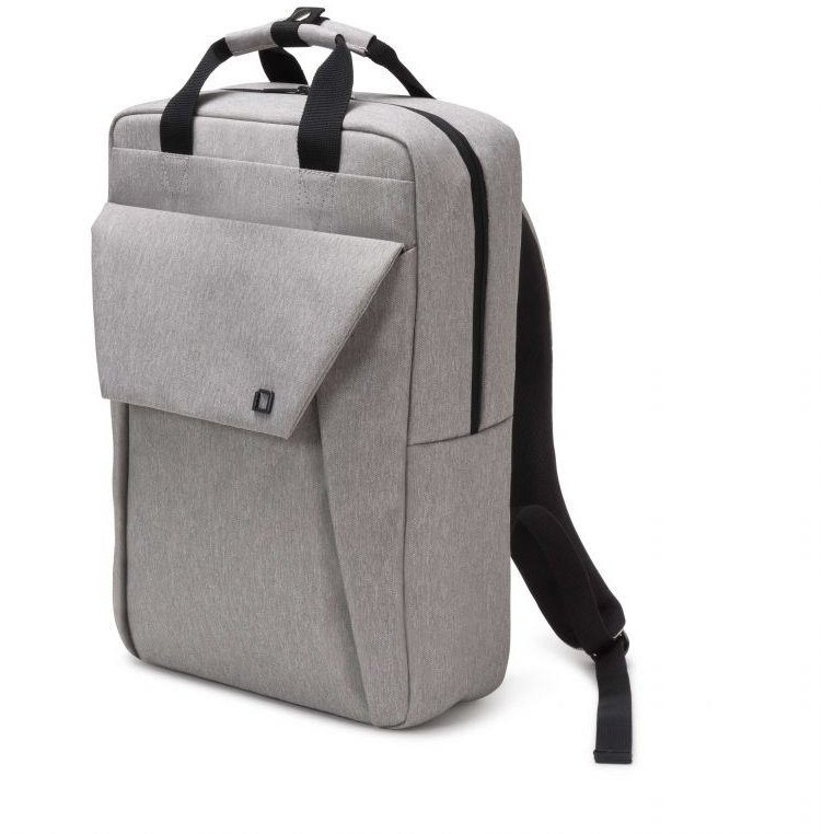 Dicota Backpack Edge 15.6 backpack for notebook and clothes, light grey