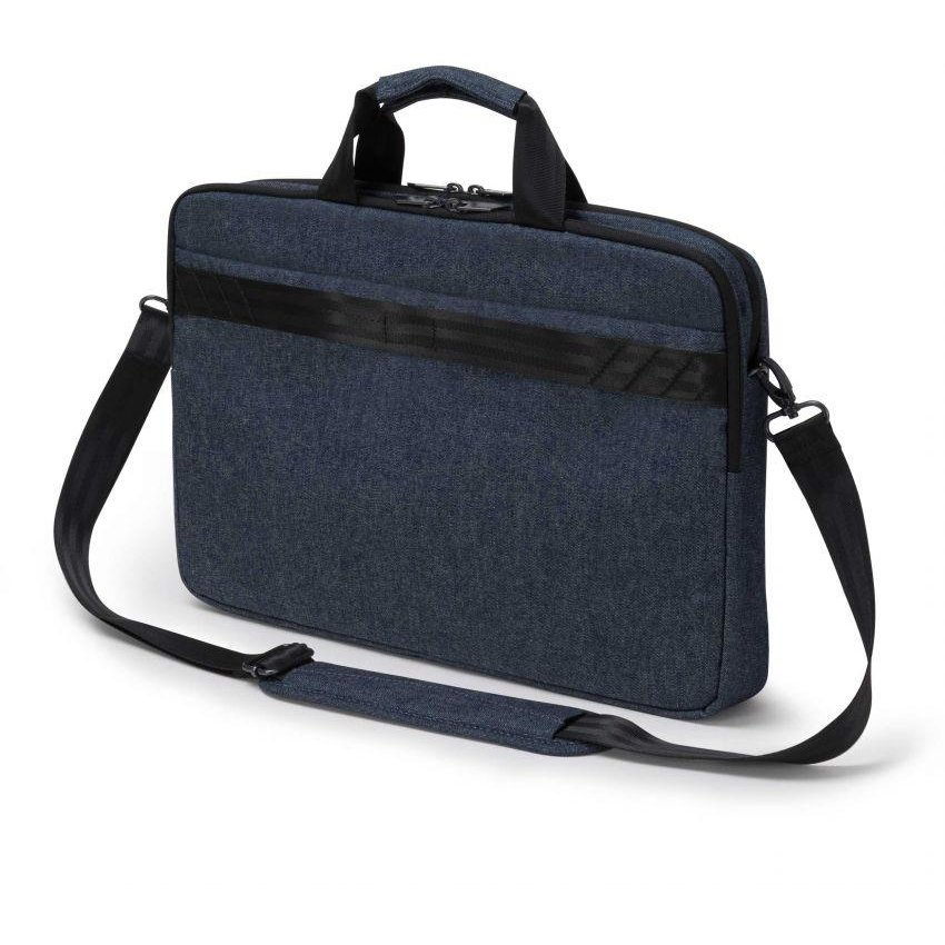 Dicota Slim Case Plus Edge 14 - 15.6 blue denim notebook case