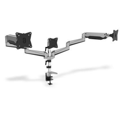 Suport monitor Clamb Mount for Monitors with Gas Spring, 3xLCD,27'',adjustable and rotated 360°