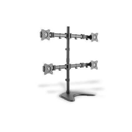 Suport monitor Universal Monitor Stand, 4xLCD, 27'', max. load 8kg, adjustable and rotated 360