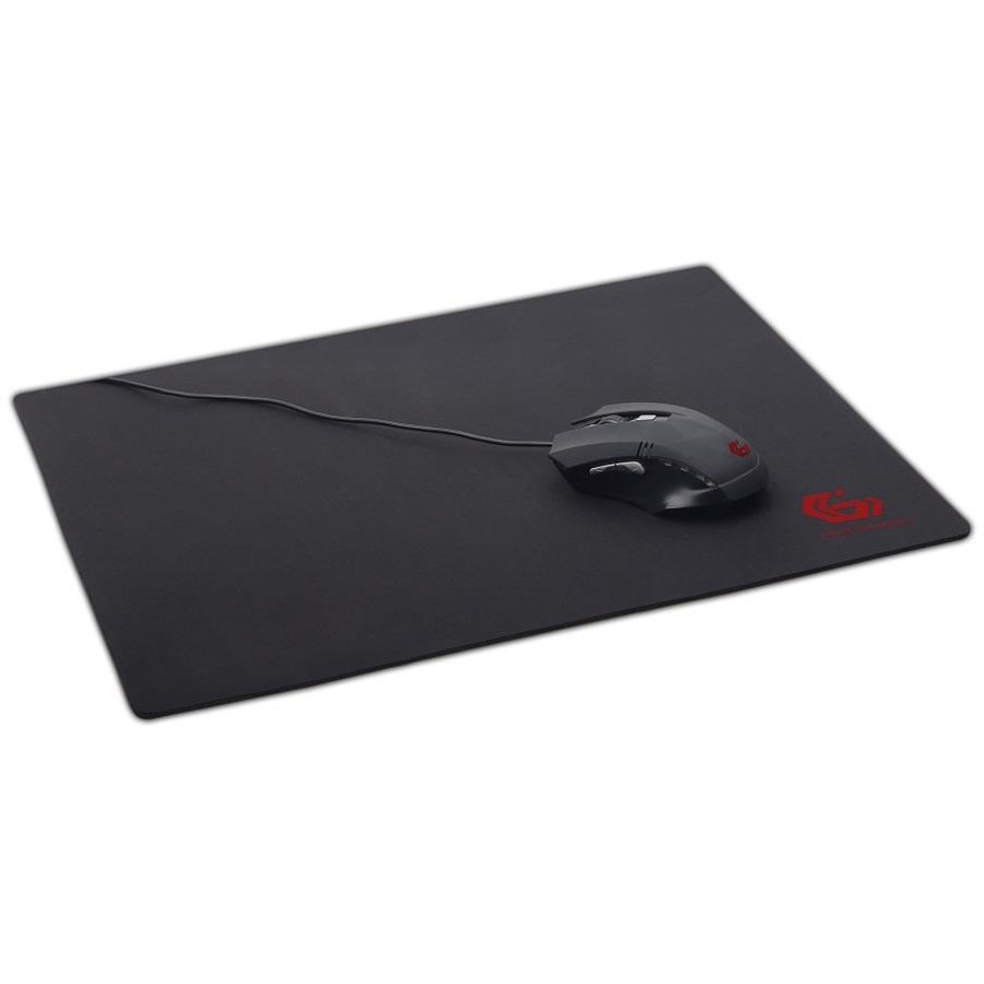 Mousepad Gembird gaming mouse pad, black color, size L 400x450mm