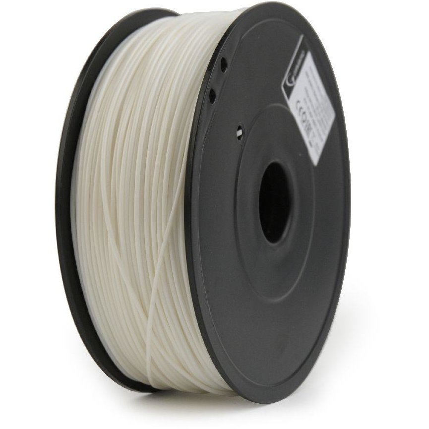 Filament Gembird ABS Alb | Flashforge | 1,75mm | 0.6kg