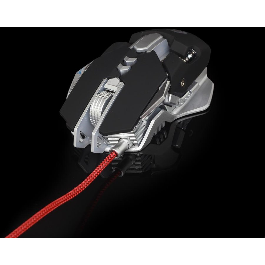 Mouse Gembird programmable optical gaming mouse 4000 DPI, AVAGO A3050, USB
