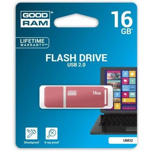 Memorie USB GOODRAM memory USB UMO2 16GB USB 2.0 Orange
