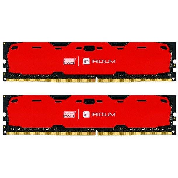 Memorie IRDM DDR4 8GB (2x4GB) 2400MHz CL15 RED