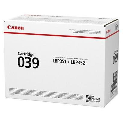 CANON CRG039 TONER CARTRIDGE BLACK