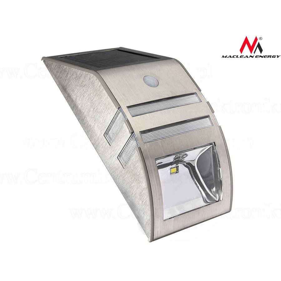 Maclean MCE118 S Solar wall ligtht with motion sensor