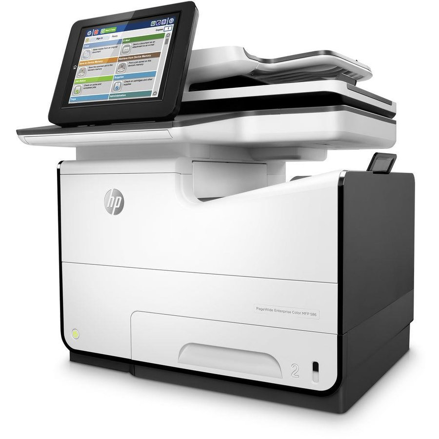 Multifunctionala MULTIFUNCTIONAL CERNEALA HP PAGEWIDE ENTERPRISE COLOR MFP 586F