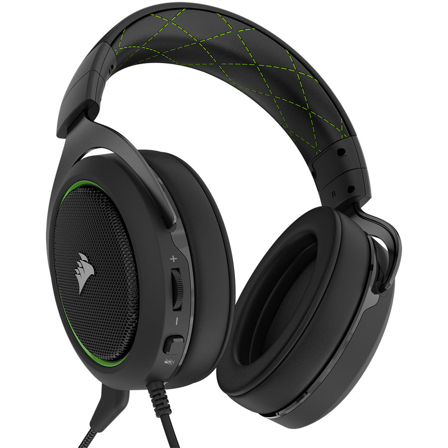 Casti Stereo Gaming Headset HS50 Green (EU)